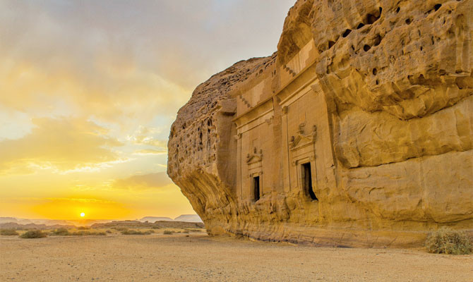 Saudi Arabia tempts Hollywood producers with historic beauty of AlUla