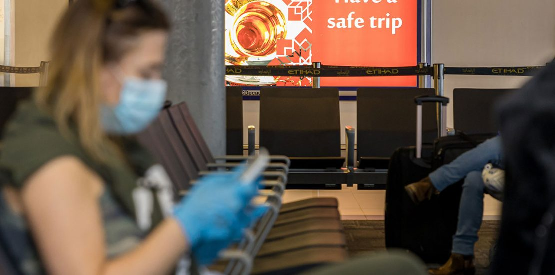 Middle East air travel demand remains 80% below pre-pandemic levels