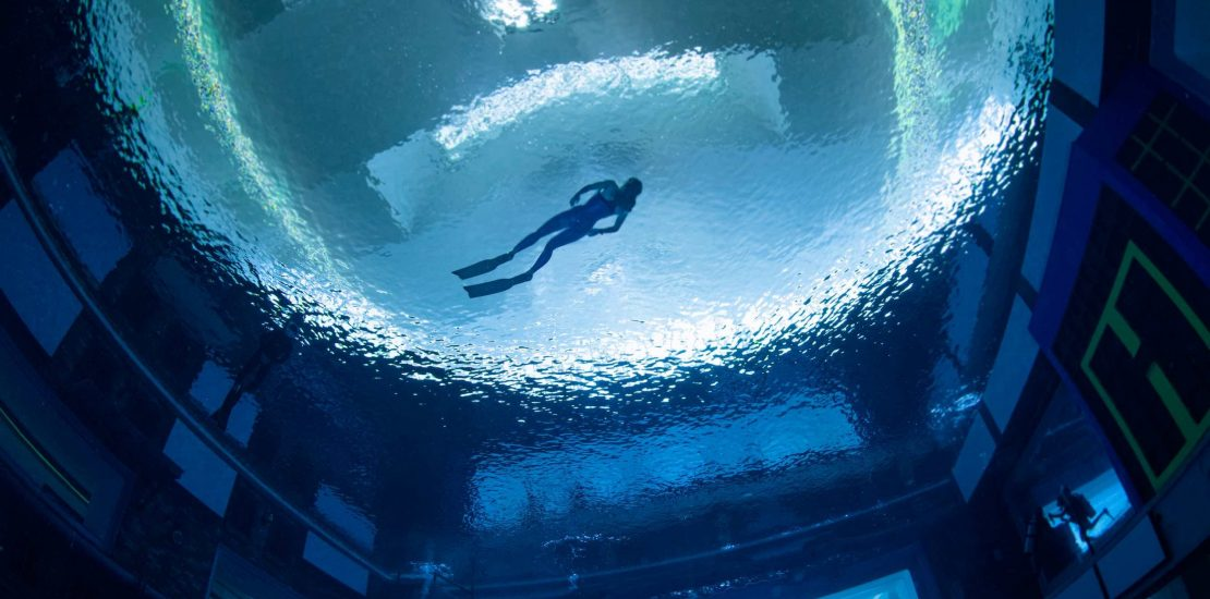 World's deepest pool in Dubai opens to the public on Wednesday